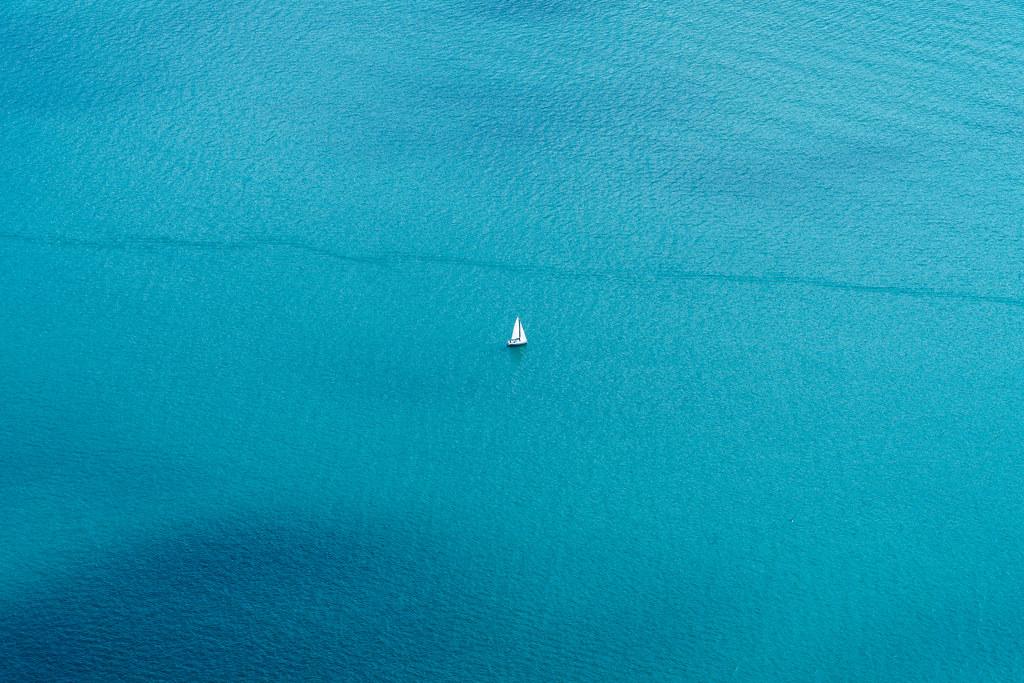 sailing on azure