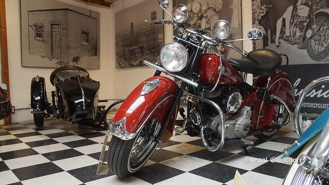 1946 Indian Chief and 1941 Sidecar