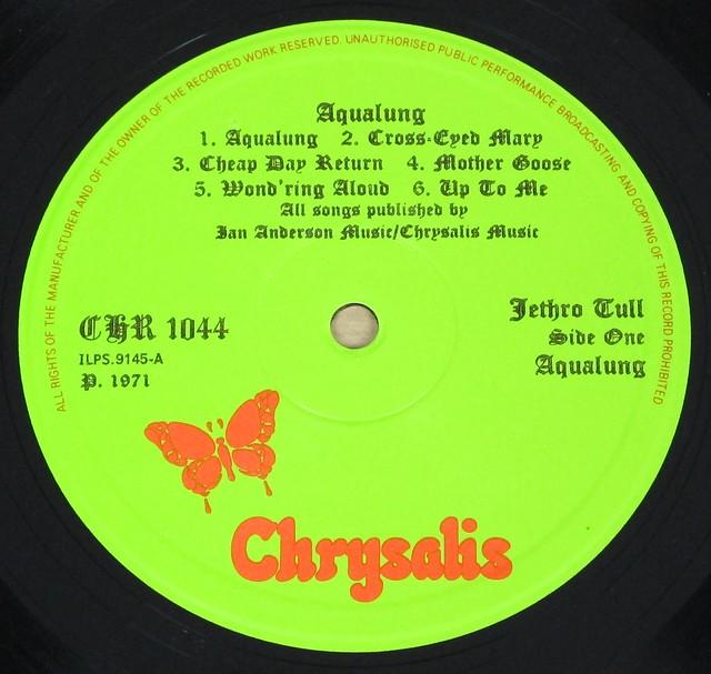 "JETHRO TULL Aqualung Gatefold chrysalis UK England PORKY PRIME CUT 12"" LP VINYL"