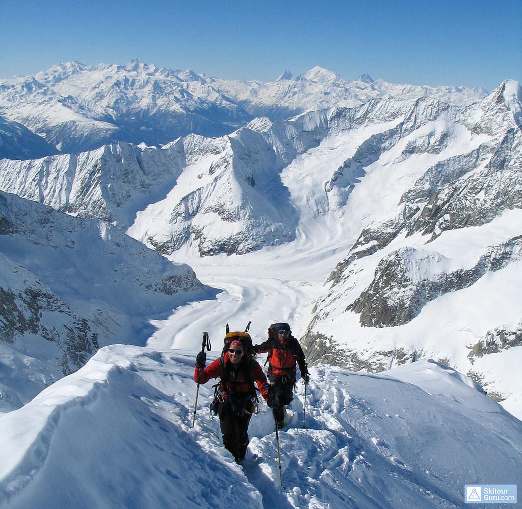 Grosser Aletschhorn Berner Alpen / Alpes bernoises Schweiz foto 07