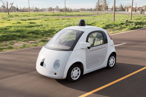 Google prototype self-driving car