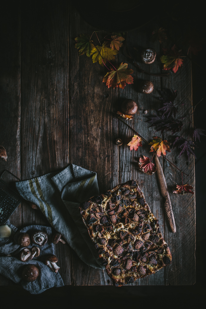 Mushroom Lasagna by Eva Kosmas Flores of Adventures in Cooking
