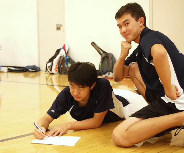 Badminton Club 10/30
