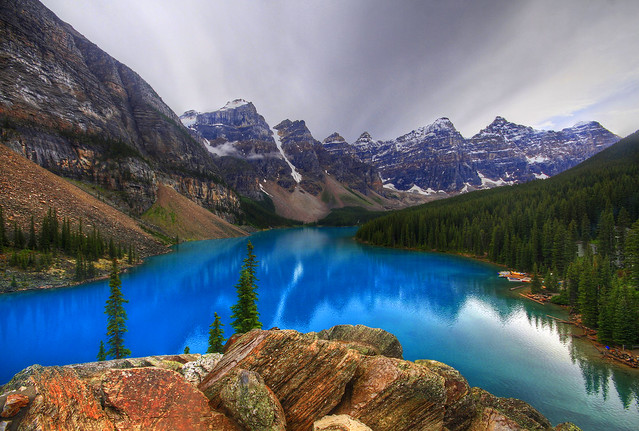 The Moraine Lake
