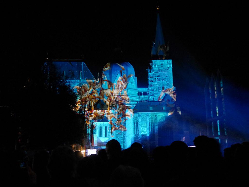 DOM im LICHT 2015 in Aachen