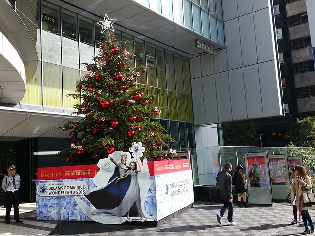 こちら渋谷ヒカリエのクリスマス