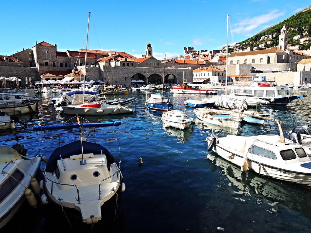 Harbour, Dubrovnik, Dalmatia, Croatia