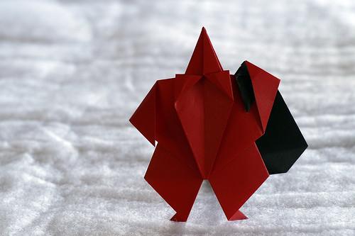 Origami Santa (Akira Yoshizawa)