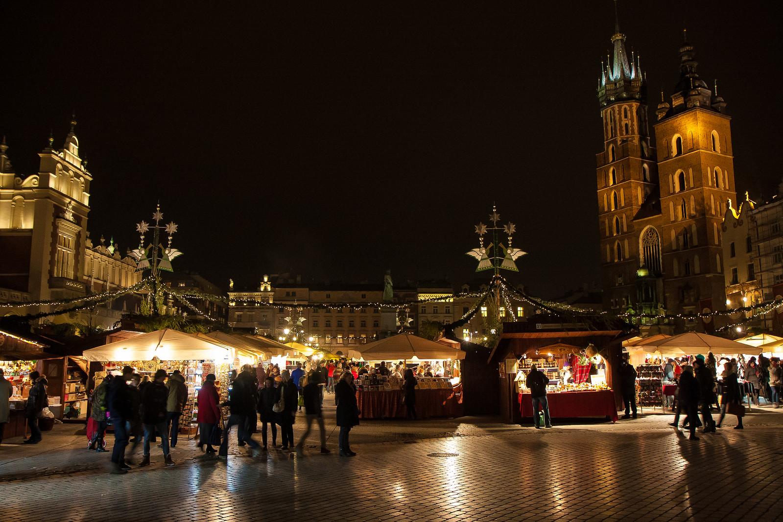 Christmas market in Krakow, Poland. Credit Garrett Ziegler
