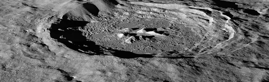 NASA's LRO Discovers Lunar Hydrogen More Abundant on Moon's Pole-Facing Slopes