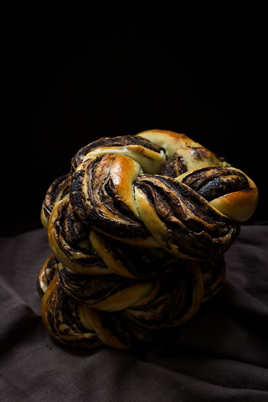 Chocolate Babka Wreaths