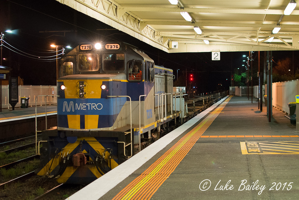 20150424-T376-Mordialloc by Luke's Rail Gallery