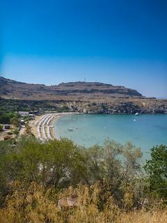 Strand beach Lindos Kos Griechenland
