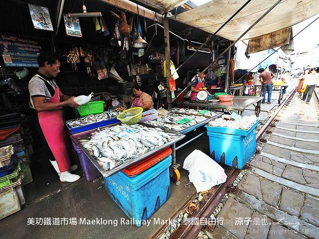 美功鐵道市場 Maeklong Railway Market 泰國自由行 41