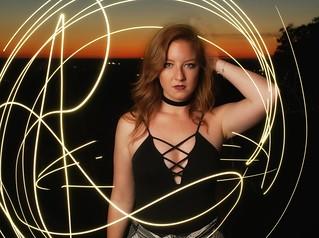 Samantha at Sunset