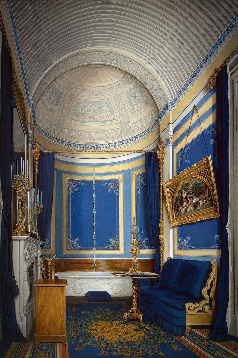 The Bathroom of Grand Princess Maria Alexandrovna, 1850