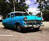 Baby blue taxi in Cienfuegos #megusta #babyblue #taxi #cienfuegos #cuba