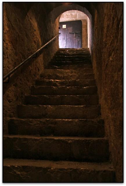 Escales al Saló del Cònclave, Castell de Peníscola