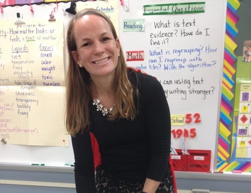 Wendy Turner, the 2017 Delaware Teacher of the Year, earned her master's degree in education by going part time to Wilmington University while working full time for four years. She made a career change that's making a difference in the lives of school children at Mt. Pleasant Elementary School in the Brandywine School district. (Photo courtesy of Boyer Sudduth Environmental Consultants.)
