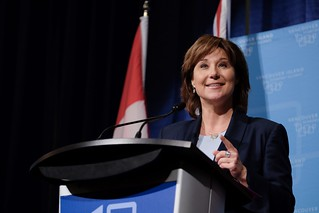 Premier Christy Clark announced at the Vancouver Island Economic Summit in Nanaimo an investment of $2.7 million in North Island College for skills training in high-priority trades seats.