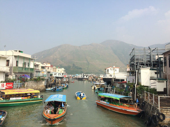 Tang, Christine; Hong Kong - A Visit to a Fishing Village (6)