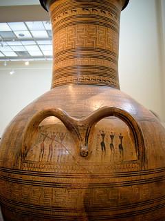 Monumental Attic Grave-Amphora