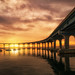Coronado Bridge at Sunrise by J Bahu Photos