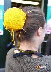 Vingerpunniken En Rondbreien Handwerkbeurs Knit Knot Is