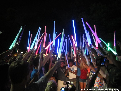 Lightsaber Battle NYC 2015