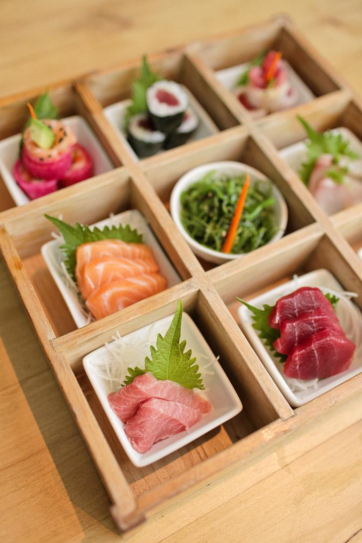 Omakase Box Blue Ocean Sushi / Restaurants in Carlsbad California.