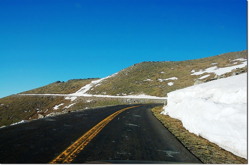 Mount Evans road (Hwy 5) 2