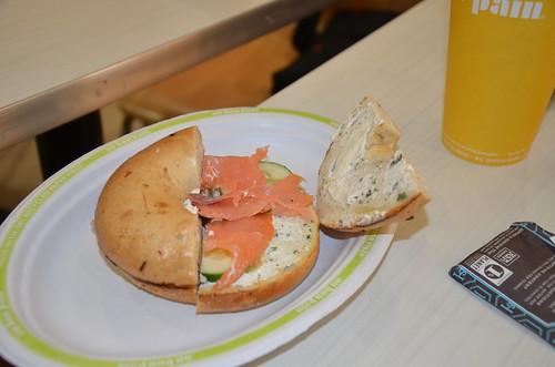Washington DC au bon pain Aug 15 2