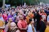 Dag Hammarskjöld Plaza #LightTheWay vigil by our_voices2015