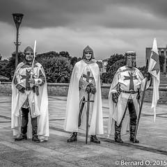 Les soldats de Muret, à l'heure du Moyen Age...