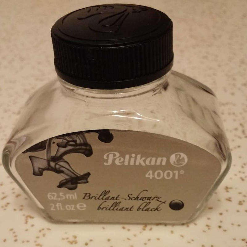 my first empty bottle   #FountainPen #ink