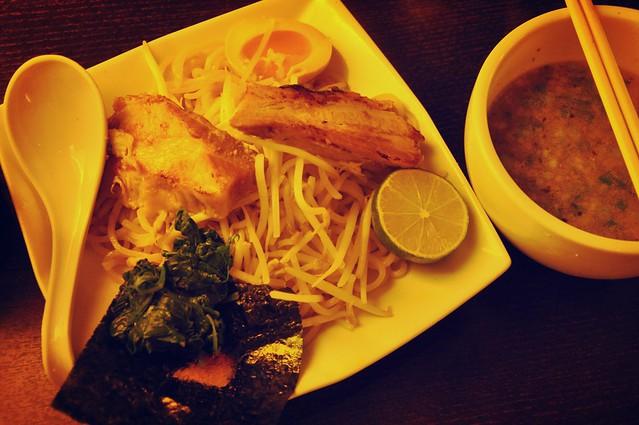 Pork Belly Dippin Noodle