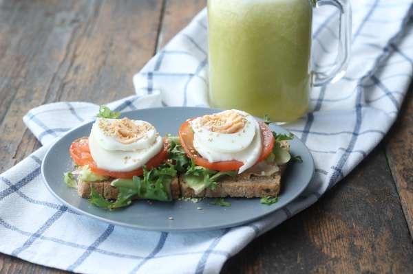 Desayuno bonito y saludable 7