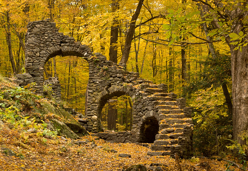 new autumn england fall stairs us ruins unitedstates newengland newhampshire hampshire chesterfield
