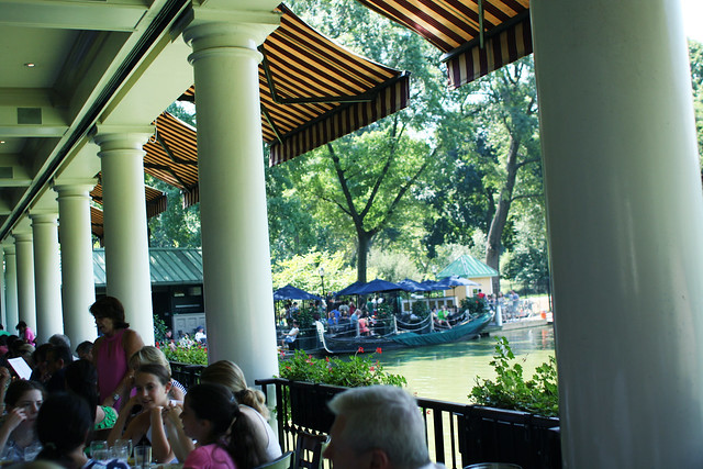 Central Park Boathouse Brunch