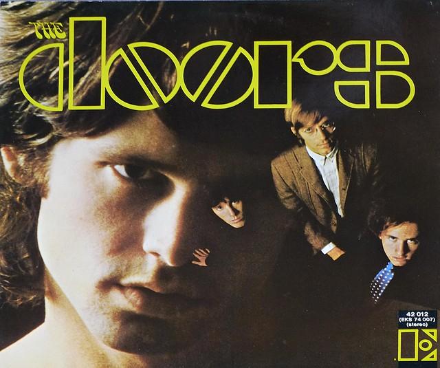 "The Doors S/T self-titled 12"" VINYL LP"