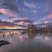 Tufa Island at Sunset by Jeffrey Sullivan