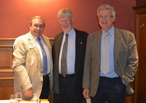 Alain Bienvenu, Hervé Pierre et Philippe Van Caillie
