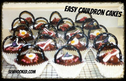 Easy Cauldron Cakes