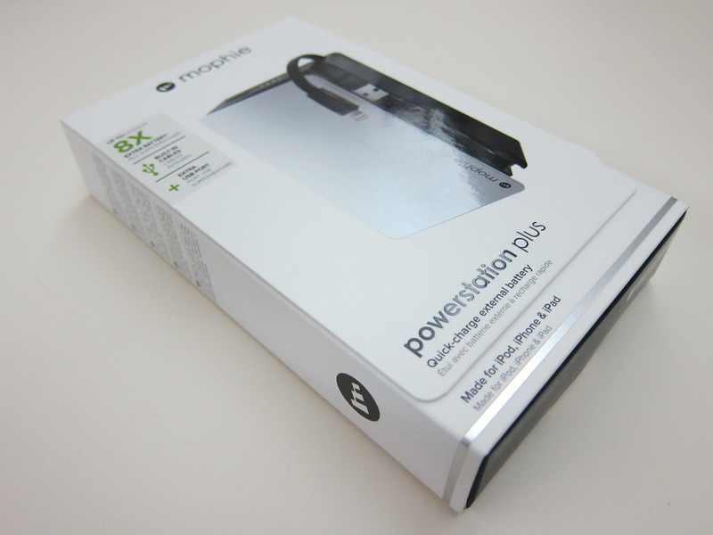 Mophie Powerstation Plus (12,000mAh) - Box