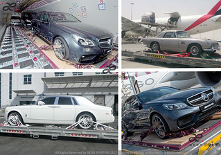 Car shipping by Air freight from Dubai