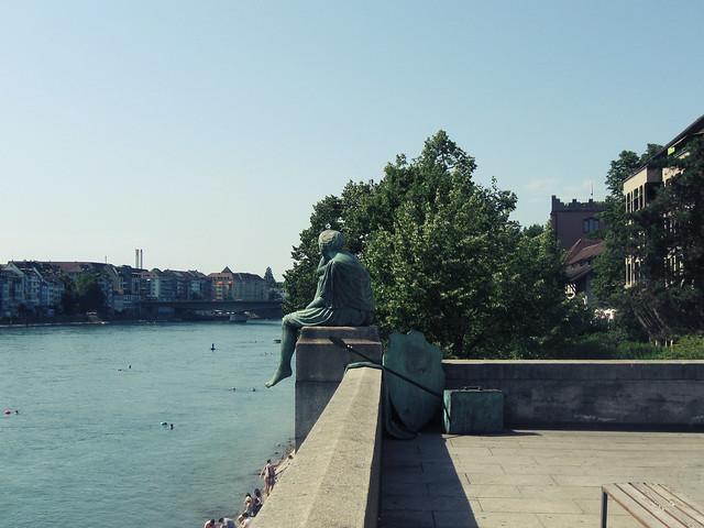 Helvetia auf der Reise, Basel, CH