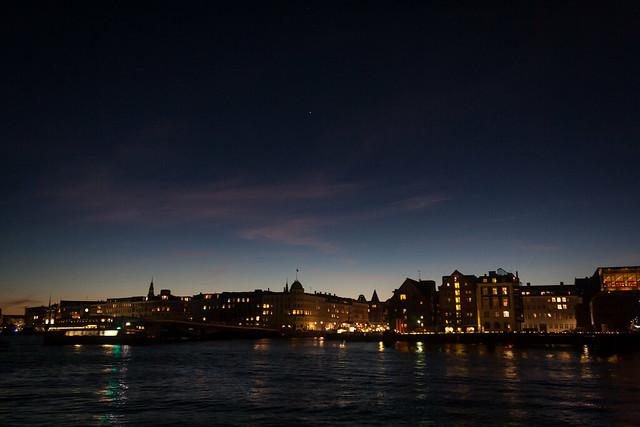 View over the water from Papirøen - Copenhagen, Denmark