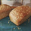 More whole wheat oatmeal sandwich bread! Awesome recipe from @smittenkitchen!