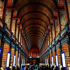 Inside The Long Room At The Old Library Trinity College Flickr