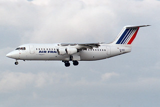 Air France (CityJet) British Aerospace BAe-146-300 EI-DEV